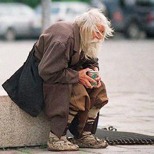 Старик-в-поношенной-одежде