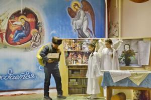 Спектакль в честь великого праздника Рождества Христова